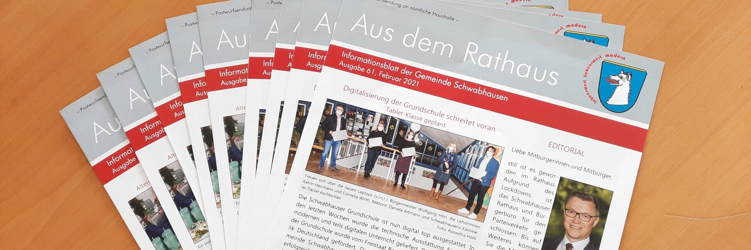 Infoblatt Gemeinde Schwabhausen